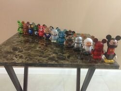 Disney Vinylmation Urban Series 9 - 13pc Set Chaser And Topper