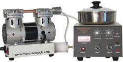 Kw-4a Spin Coater-incl. Vacuum Pump Air Filter, 3 Vacuum Chucks, And 2 Year Wnty