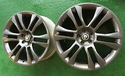 AUTHENTIC JAGUAR XKRS GUNMETAL 20 INCH OEM LIMITED EDITION WHEELSRIMSxk8