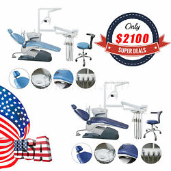 Dental Exam Patient Chair w Operatory Delivery Unit & 1 Dr Stools FDA USA SHIP