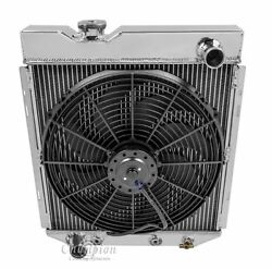2 Row Radex Radiator And Fan Combo For 1960 - 1966 Ford