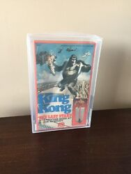 Vintage 1976 Mego Corp King Kong The Last Stand Model Kit Afa Graded Wow Look