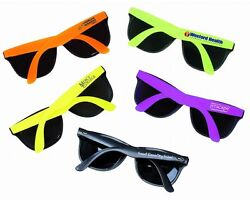 250 Personalized Sunglasses Assorted Colorspromotional Productswedding Favors
