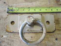 Cargo Tiedown Loop And Bracket, Bolt-on Or Weld-on, For Trailers And Trucks, Used