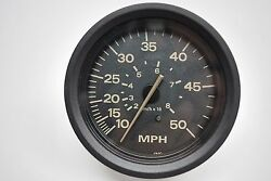 Johnson Evinrude Outboard 50mph Cordova Series Speedometer Gauge Only 175849