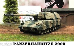 1/72 Diecast howitzer PANZERHAUBITZE 2000 Germany Military Model Eaglemoss