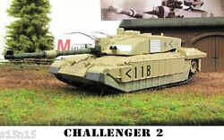 1/72 Diecast Tank CHALLENGER 2 UNITED KINGDOM Military Model Toy Eaglemoss