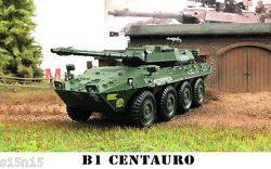 1/72 Diecast Wheeled Tank Destroyer B1 CENTAURO ITALY Military Model Eaglemoss