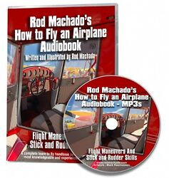 Rod Machadoand039s How To Fly An Airplane - Audiobook 18.5 Hour Dvd Containing Mp3s
