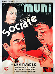 Dr Socrates - Original French Poster - Very Rare