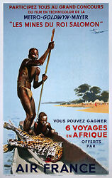 King Solomon's Mines - Original French Poster - Very Rare
