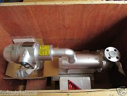 Nikkiso Non Seal Stainless Pump Model Hx22b-a5 New