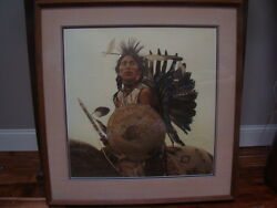 Collectable Art Signed Prints Native Indians By James Bama
