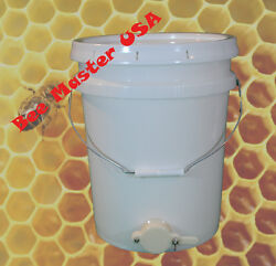 Pros Choice Best Honey Bottling Pail/bucket With Honey Gate And Lid. Food Grade