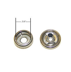 Snap Button And Socket Stainless Steel Line 24 Standard Size 200 Piece Set