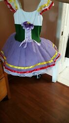 kids dance dress size 10 12