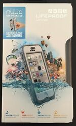 Lifeproof Nuud Carrying Case For Iphone 5c - Retail Packaging - White/gray