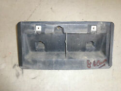 Front License Plate Frame And Screws Chevy Camaro Sport 85 86