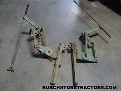 Rare Oliver 440 Or Super 44 Pair Of Front Cultivator Mounts With Lift Bars
