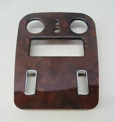 Rolls-royce 98-02 Silver Seraph Veneered Front Roof Console 2 Switch Panel