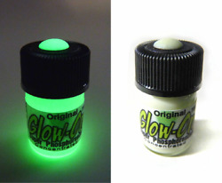 Glow-on Original Glow Paint For Gun Sights Fishing Lures 2.3 Ml Vial. Bright