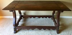 Antique Refectory Farmhouse Dining Table Writing Table/desk | European | 1700s