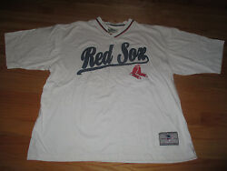 Lee Sport American League Boston Red Sox Stitched Lg V-neck Jersey