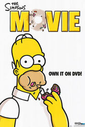 Simpsons The Movie Dvd Orig Movie Poster 1sided 27x40