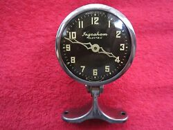 Antique Nos 1920s-1930s Fordchevybuickdodgeoldsmobilepontiac Dash Top Clock