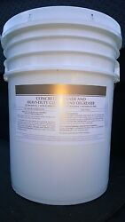 Patriot Chemical Sales Concrete Floor Surface Cleaner/degreaser 5 Gallon Pail