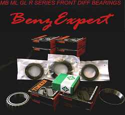 Mercedes 06-15 Ml R Gl Front Differential Rebuild Kit Axle Shaft Bearing Seals