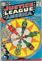 Justice League Of America 6 Dc Comics 1961 Fox/sekowsky 1st Amos Fortune Vg