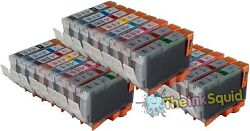 24 Compatible Bci-3-5-6 Non-oem Ink Cartridges For Canon Sets Of 8