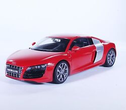 Tc18 New Audi R8 Hard Top Sport Coupe Red 118 1/18 Diecast Toy Model Car Kyosho