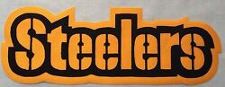 Huge Pittsburgh Steelers Iron-on Patch - 3.5 X 10