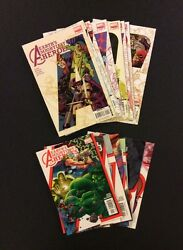 Avengers Earth's Mightiest Heroes 1-8 Comic Books Vol 1 And 2 Lot Of 16 Hulk Thor