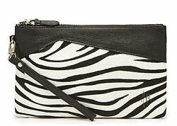 Mighty Purse Zebra Pony Fur Genuine Leather 4000mAh Phone Charger By HButler