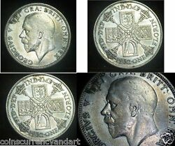 Great Britain - Uk - Florin 2 Shillings 1932 Silver Coin King George V- Scarce
