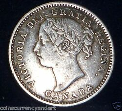 Canada 1888 Ten Cents - Worth Seeing