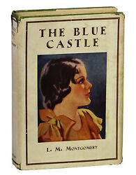 The Blue Castle By L.m. Montgomery First Uk Edition In Rare Jacket 1935 1st