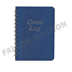5-leg Flight Crew Log Book - Trip And Expense Record For Airline Pilots