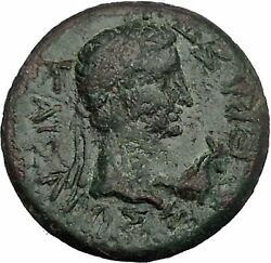 Augustus Capricorn Before And Rhoemetalkes Thrace King Ancient Roman Coin I50082
