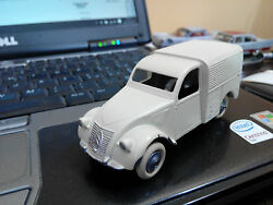 miniature jrd france 1 43 citroen 2 cv
