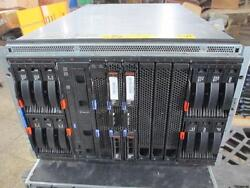 IBM 8886-1MG WITH HS22 HDD CONTROLLER AND MORE PLEASE READ THE DESCRIPTION