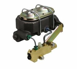Master Cylinder 1-1/8 Bore Cast Iron With Disc/drum Valve Impala/bel Air