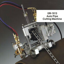 Automatic Oxy-fuel Pipe Cutting/beveling Machine.