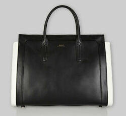 Bally of Switzerland Calf Leather Designer Satchel Tote Bag - 100% Authentic