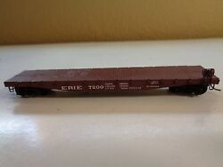 n scale erie flat car knuckle couplers lot