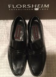 New Florsheim Como 5D Black (309)