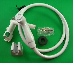 Sealand 319055 Vacuum Breaker With Handspray And Extension Kit White Pwy